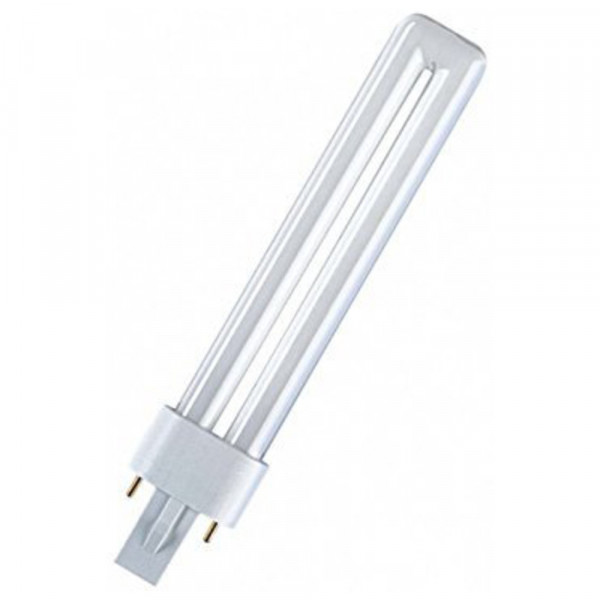 Osram Leuchtstofflampe DULUX S, G23, 11 W / 840, Cool White