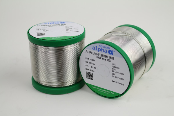 Lötdraht SACX Plus 0307 FLUITIN 1532/133 (0,75mm/500g)