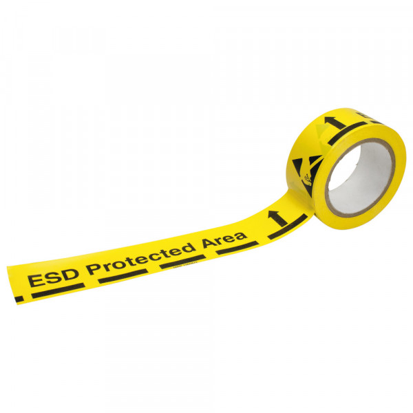 """Bodenmarkierungsband """"ESD Protected Area"""", ESD, 50 mm, 33 m"""