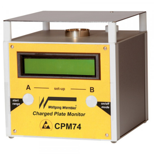 Warmbier Charged Plate Monitor CPM74, ESD