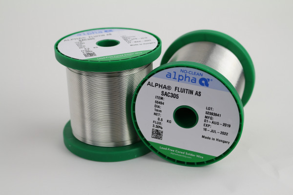 Lötdraht SAC305 FLUITIN AS/133 (1mm/500g)