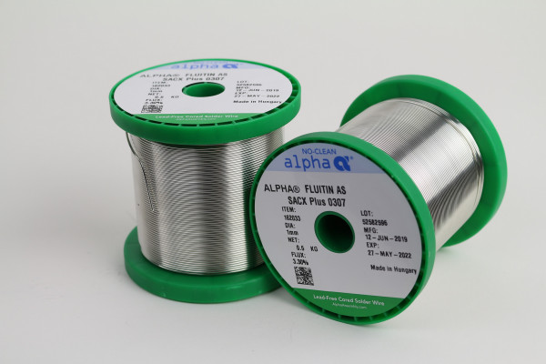 Lötdraht SACX Plus 0307 FLUITIN AS/133 (1mm/500g)